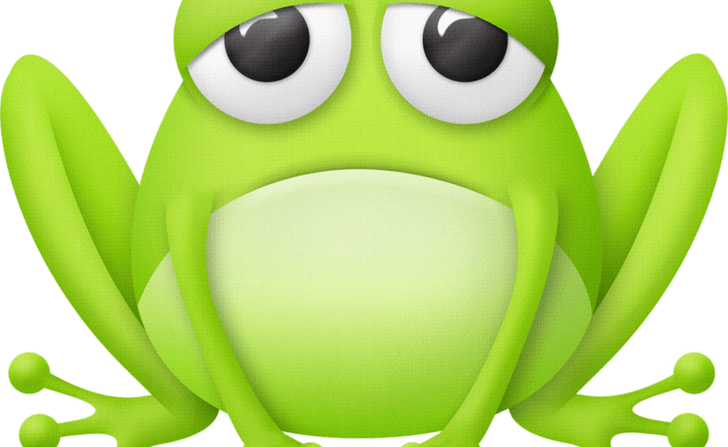 Wet clipart frog. Cartoon paintings of frogs