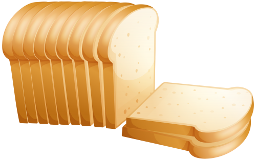 Toast png clip art. Bread clipart transparent background