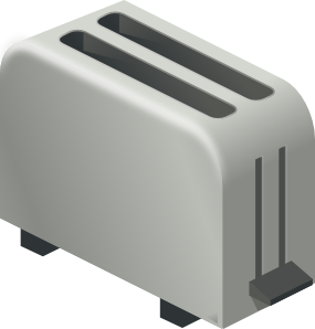 Clip art at clker. Toaster clipart