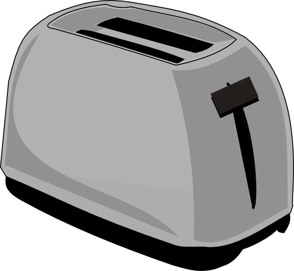 Toaster clip art at. Oven clipart appliance