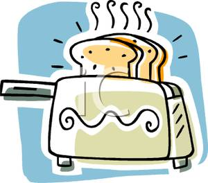 A royalty free picture. Toaster clipart cartoon