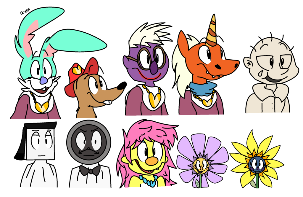 Lots of other characters. Toaster clipart sketch