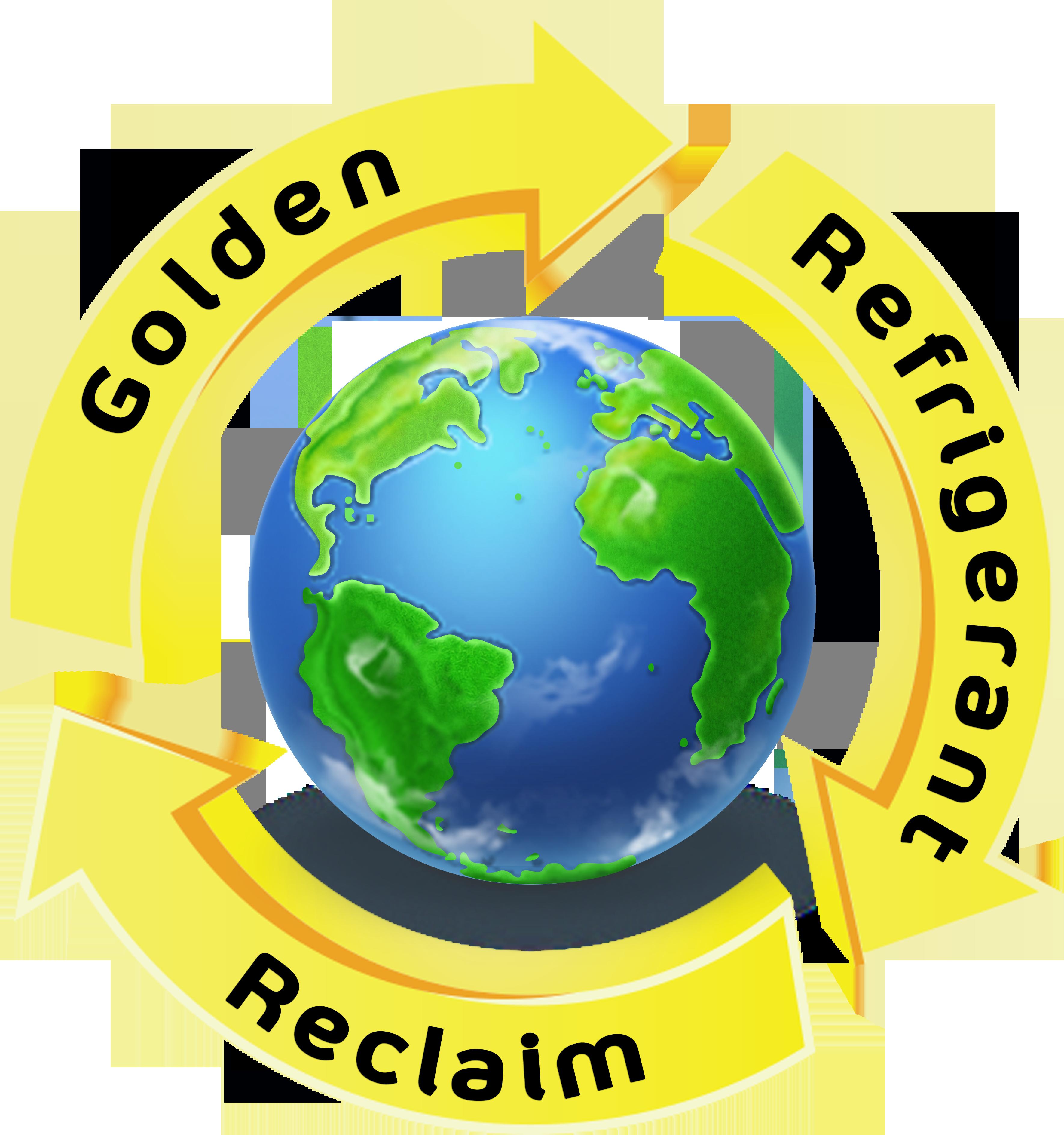 Golden refrigerant epacertified reclaimer. Toaster clipart stock photo