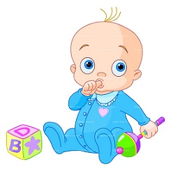 Toddler clipart. Free