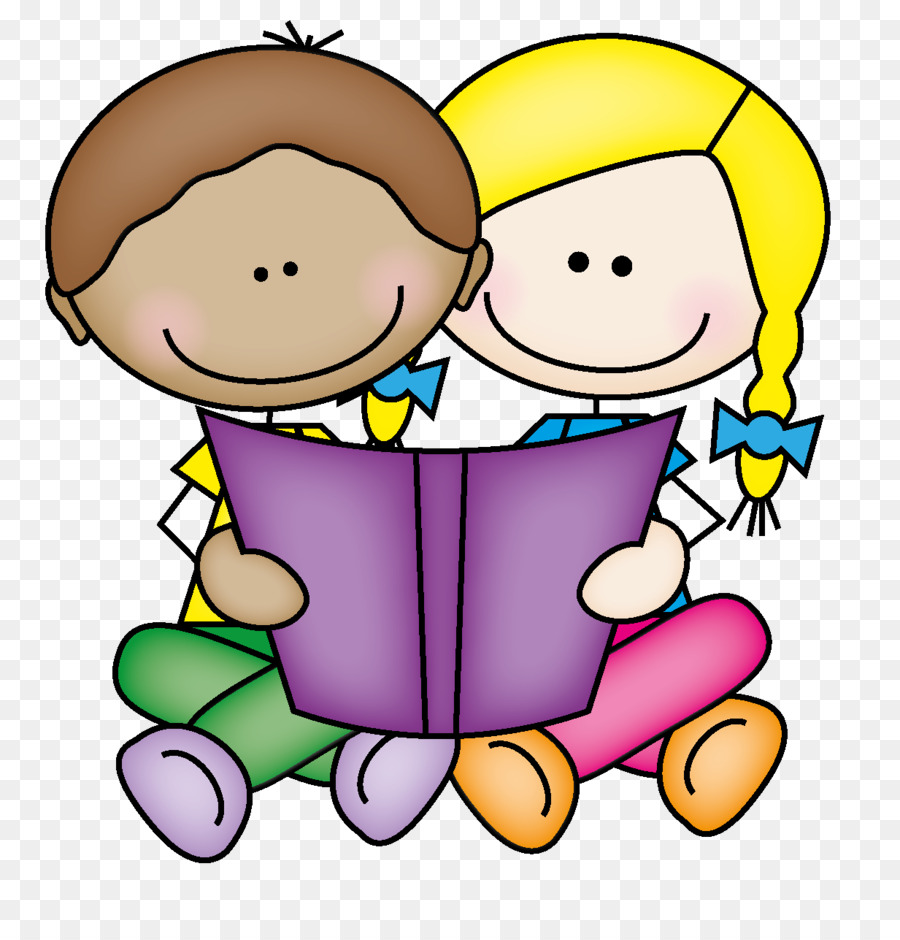 Child reading book boy. Toddler clipart buddy read