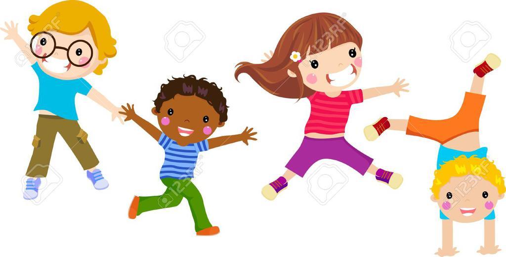 Cute children free . Toddler clipart child activity