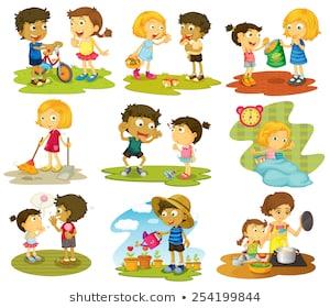 Children images portal . Toddler clipart child activity