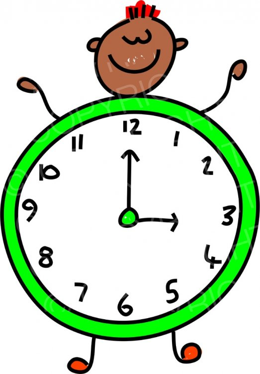 Toddler clipart clock. Art kid prawny