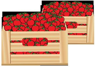 Tomatoes clipart box. Free tomato download clip