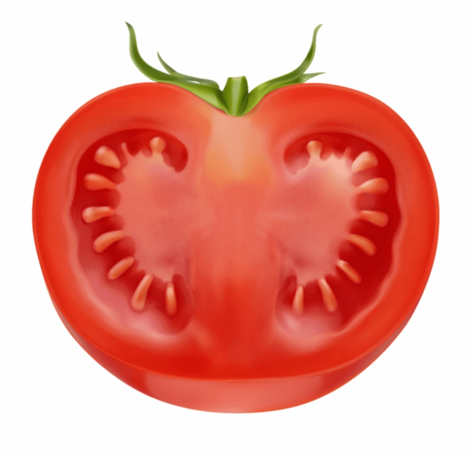 Tomatoes clipart diced tomatoes. Tomato slices png half