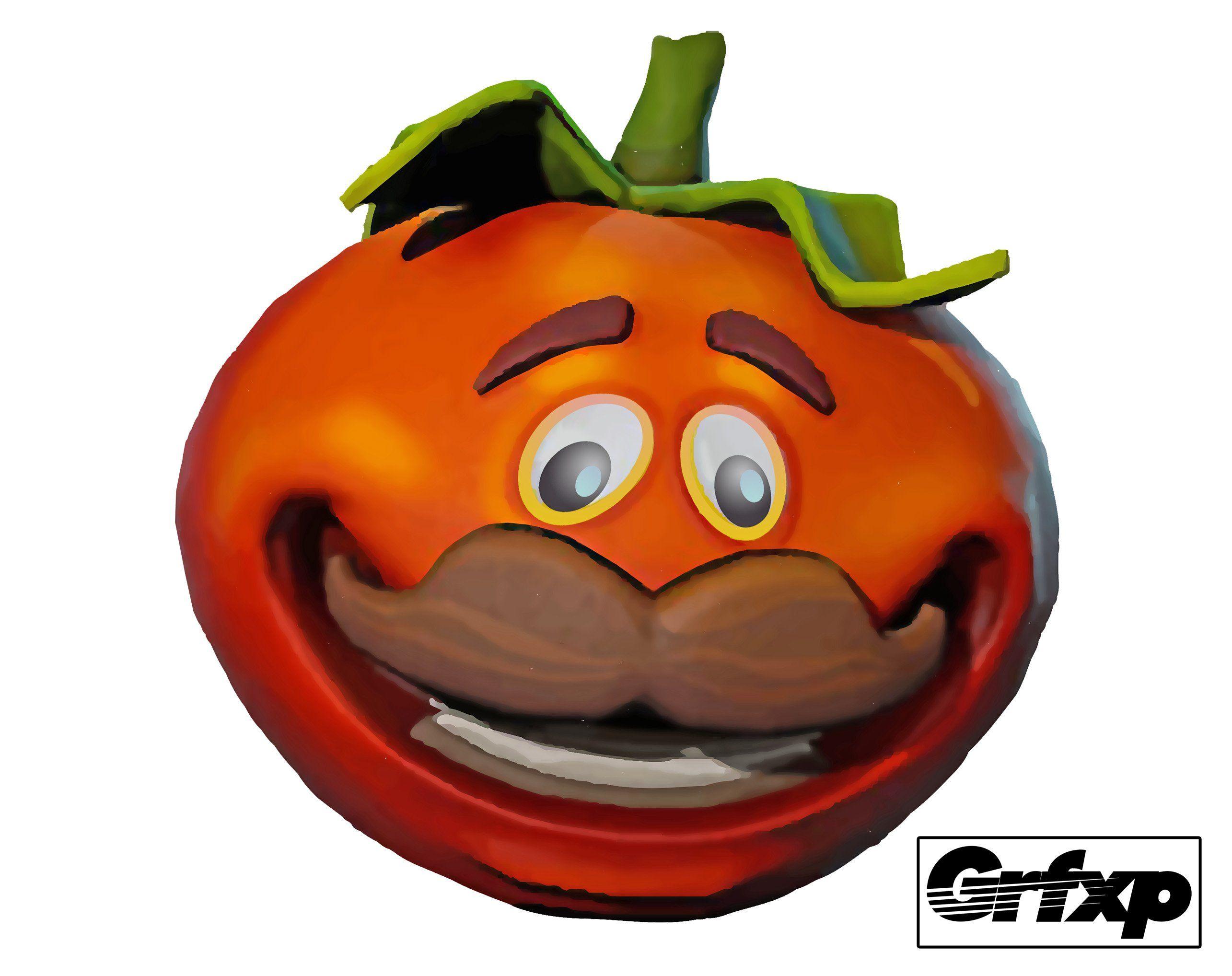 Tomatoes clipart person. Tomato man head fortnite