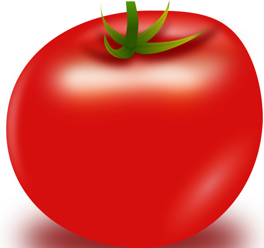 Cartoon food apple transparent. Tomatoes clipart potato