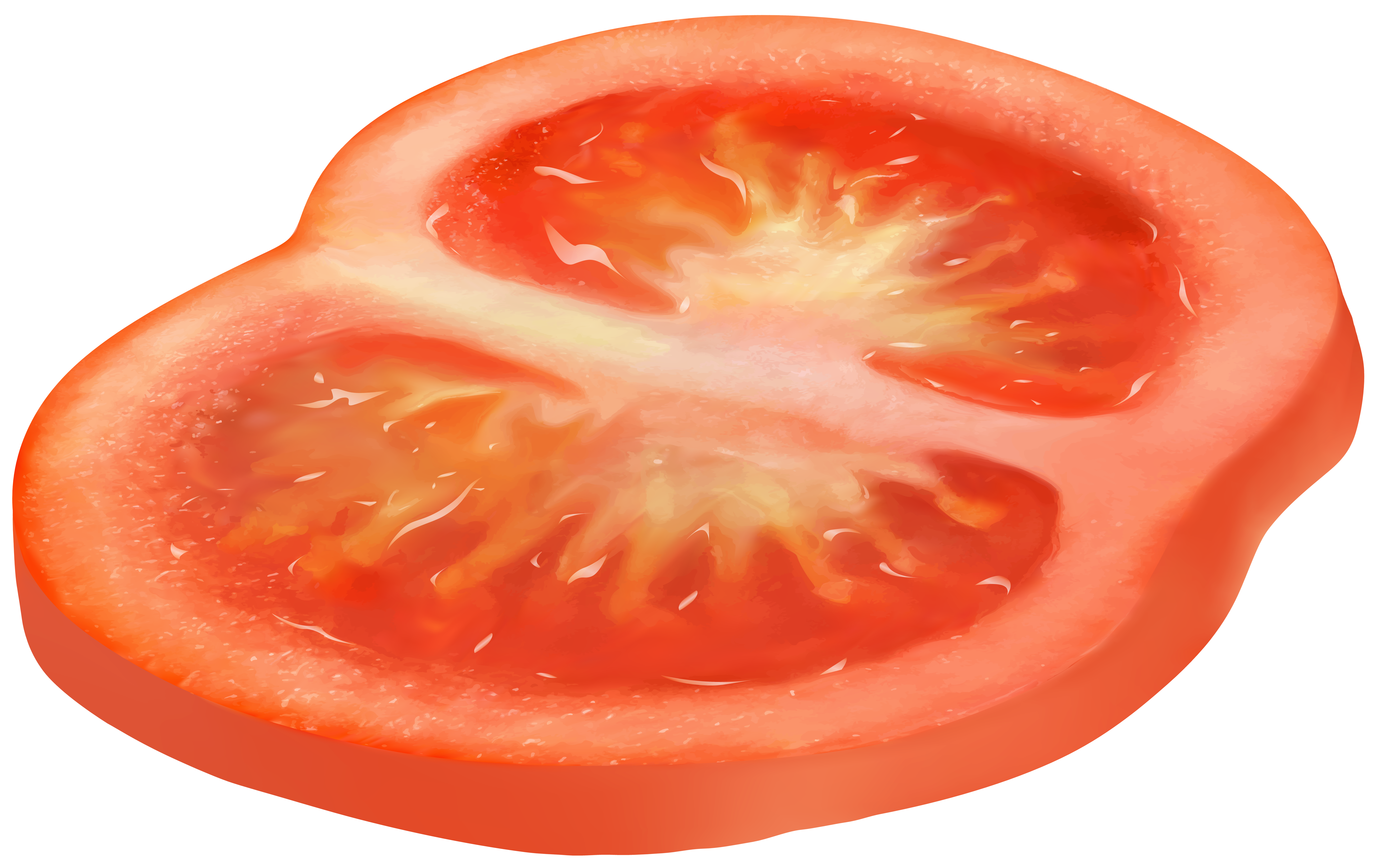 Circle png gallery yopriceville. Tomatoes clipart sliced tomato