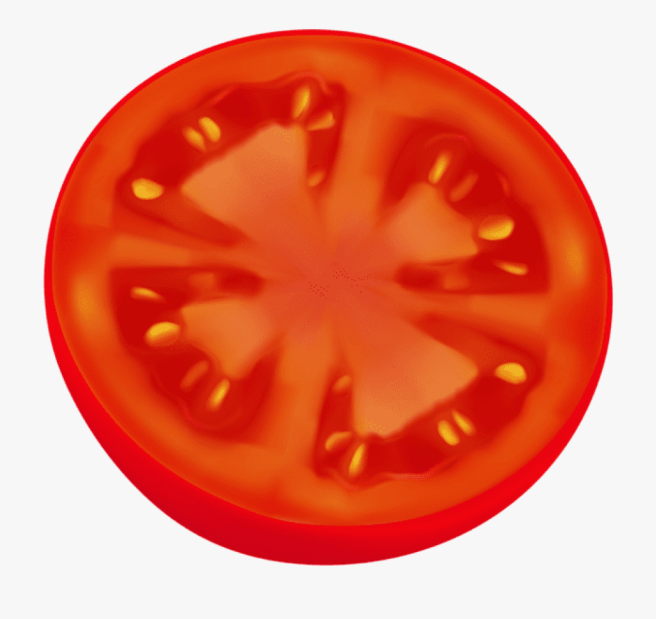 Tomatoes clipart sliced tomato. Circle png clip art