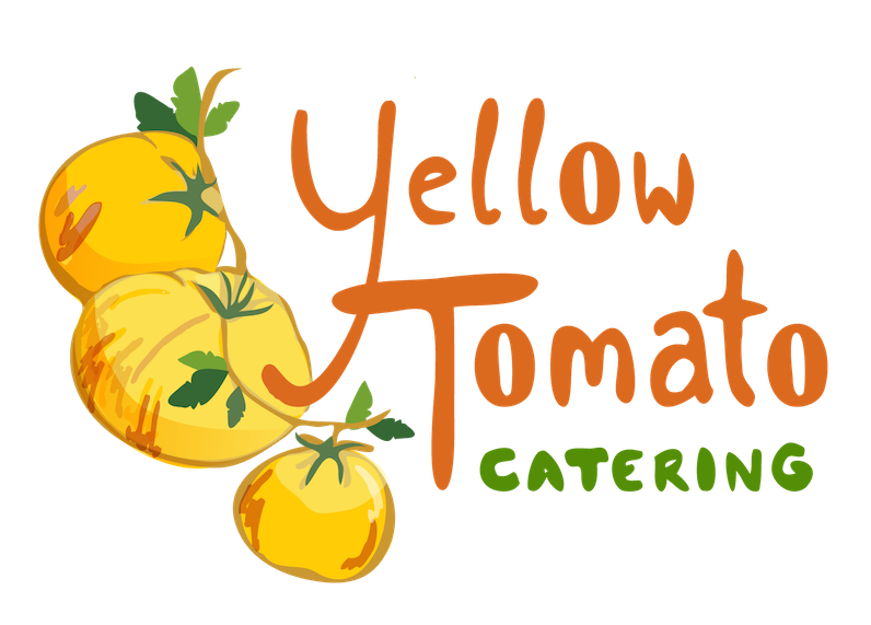 Tomatoes clipart smile. Yellow tomato catering fresh
