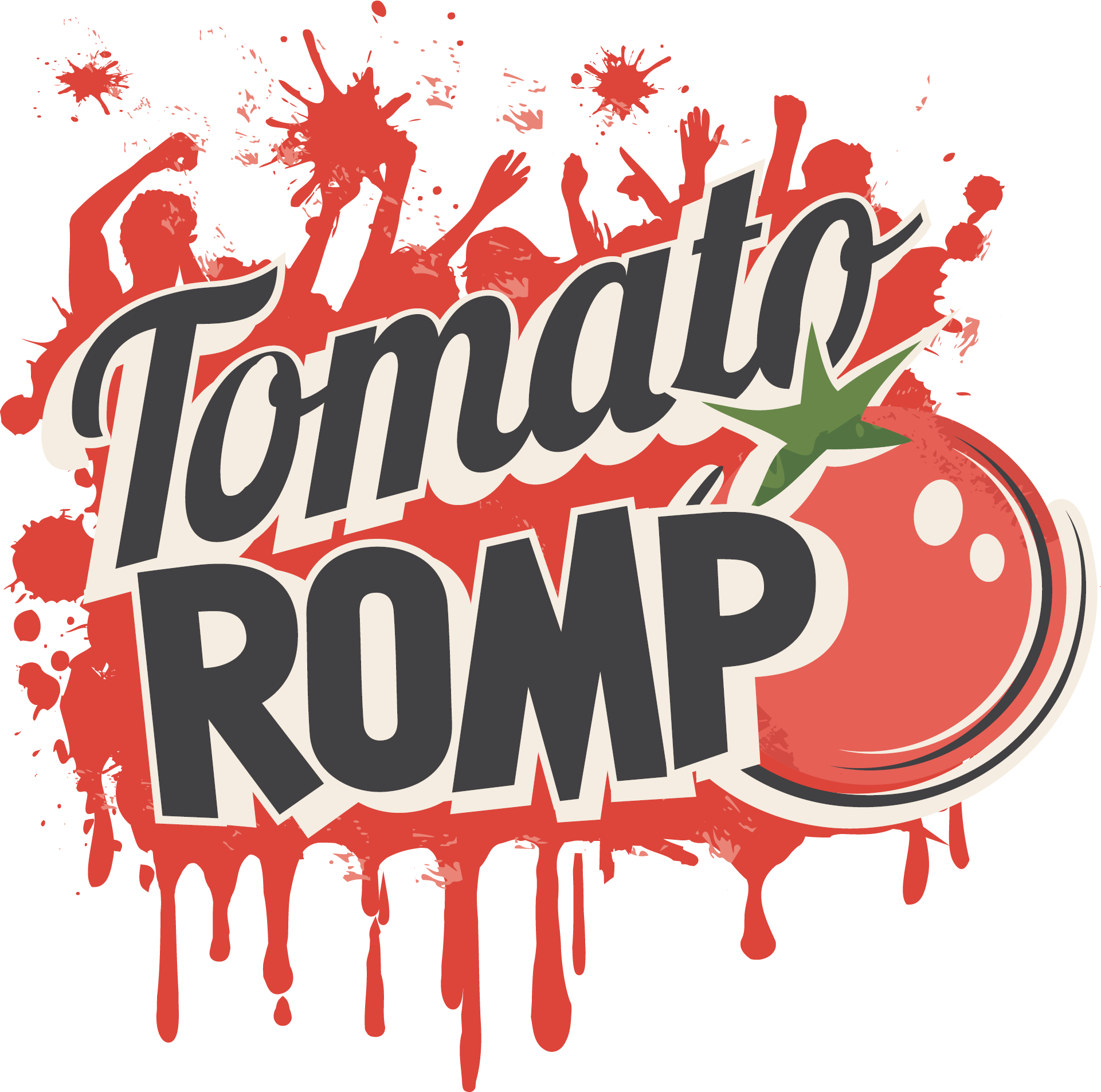 Tomatoes clipart splattered. The east side s