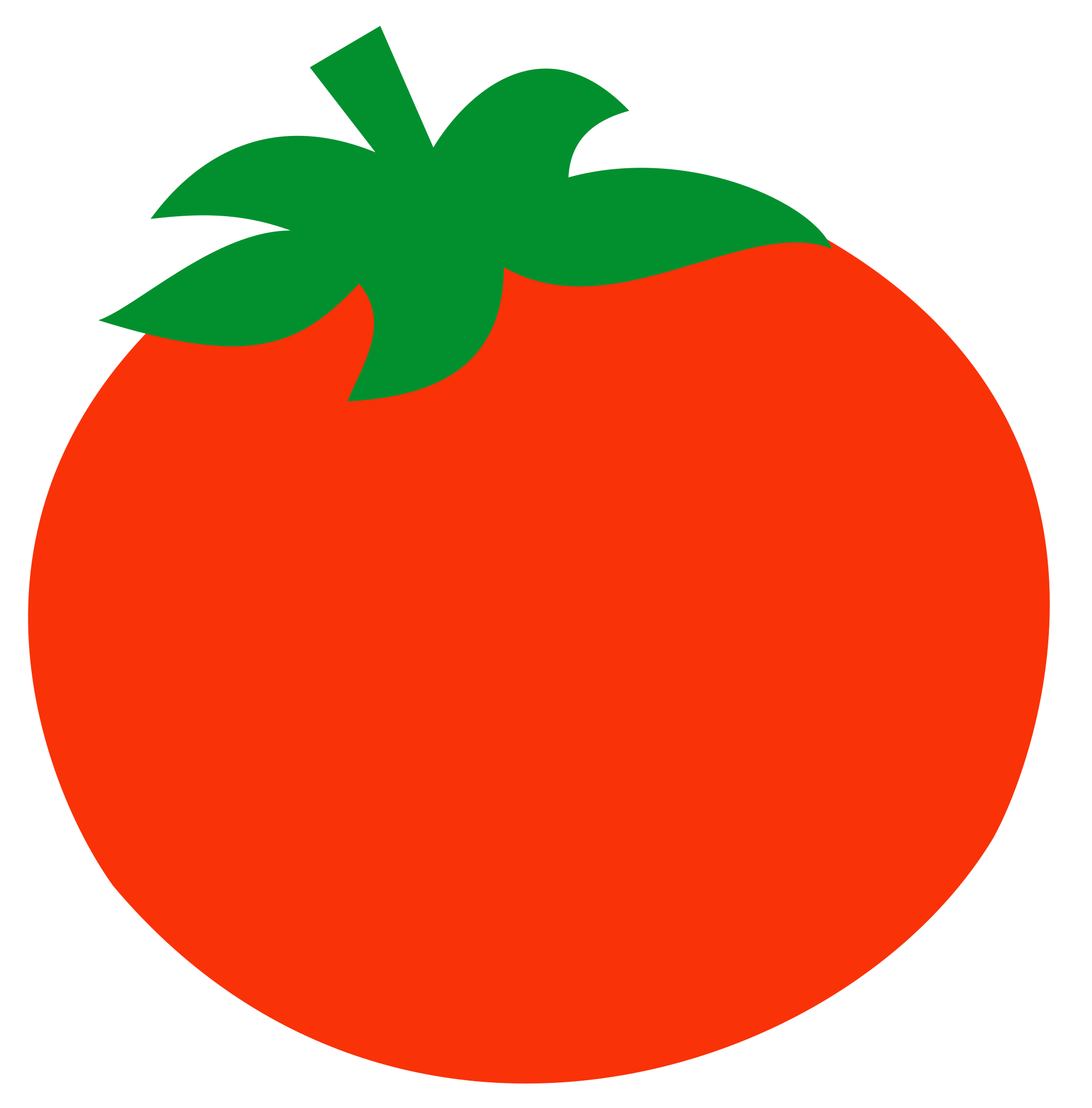 Tomatoes clipart tomato leaf. File rotten svg wikimedia