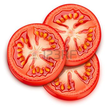 Tomatoes clipart tomato slice. Stock illustrations cliparts and