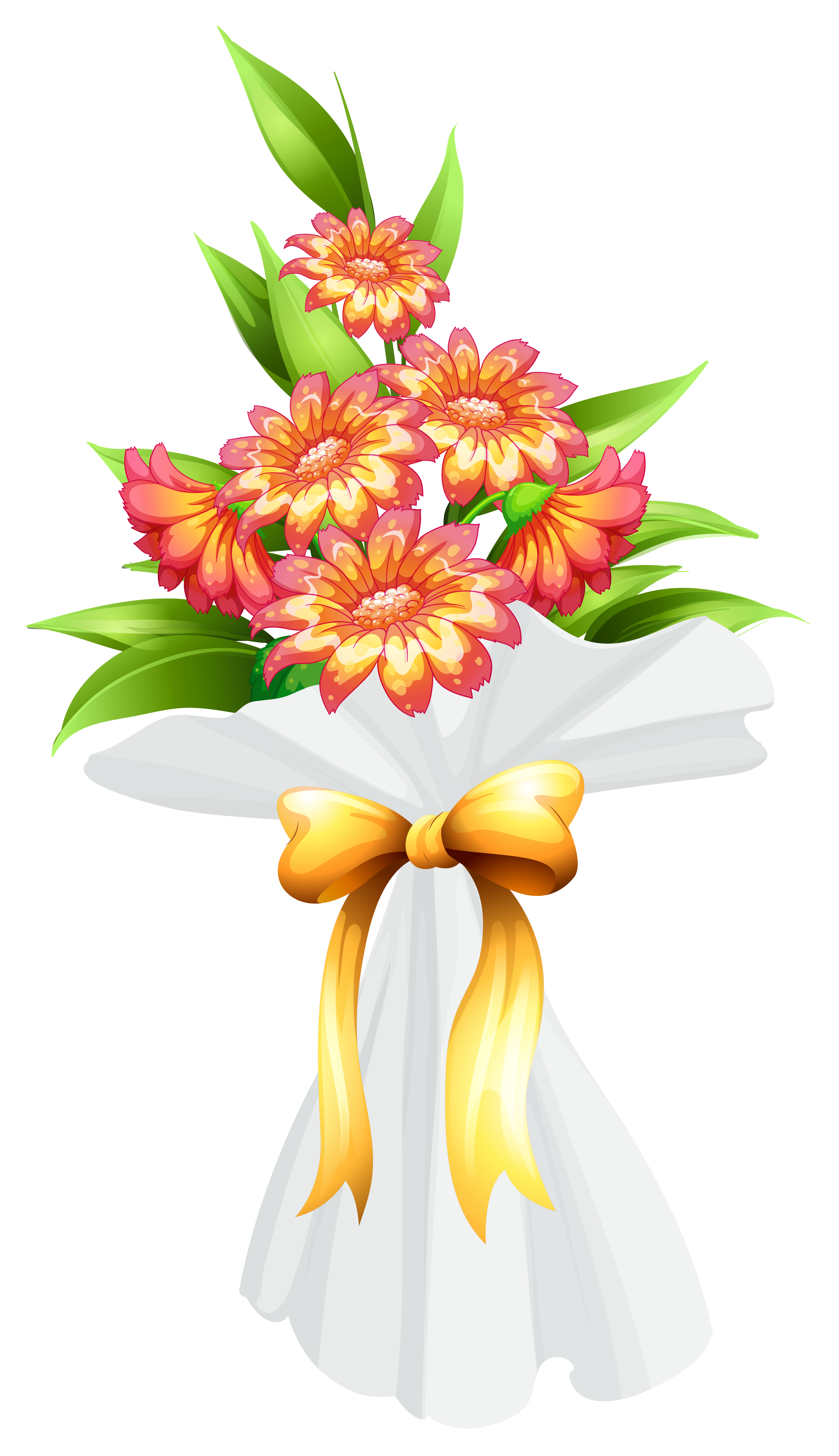 Bouquet with flowers png. Tomatoes clipart watercolor