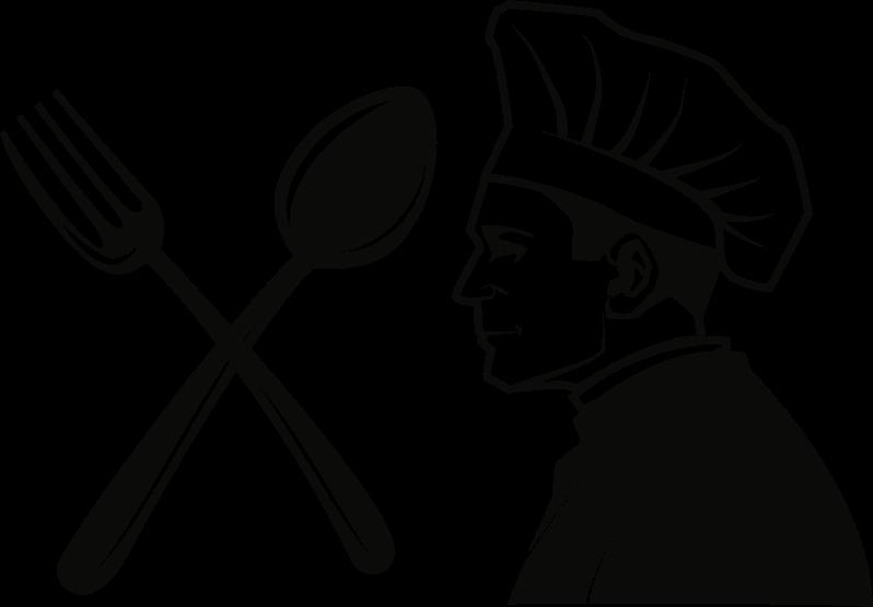 Tool clipart chef. Restaurant medium image png