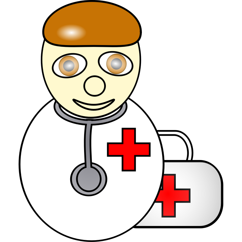 Xray clipart cartoon. Free picture of doctor