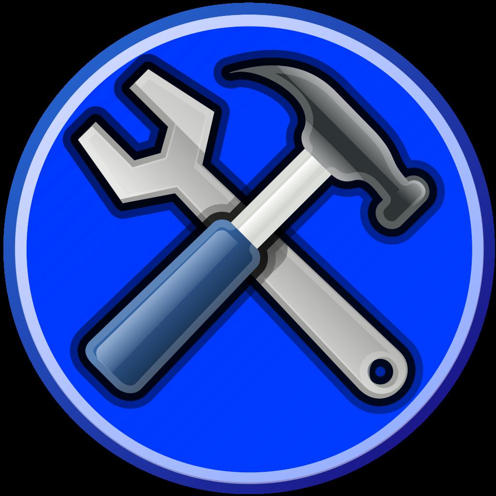 File tools blue svg. Tool clipart herramientas