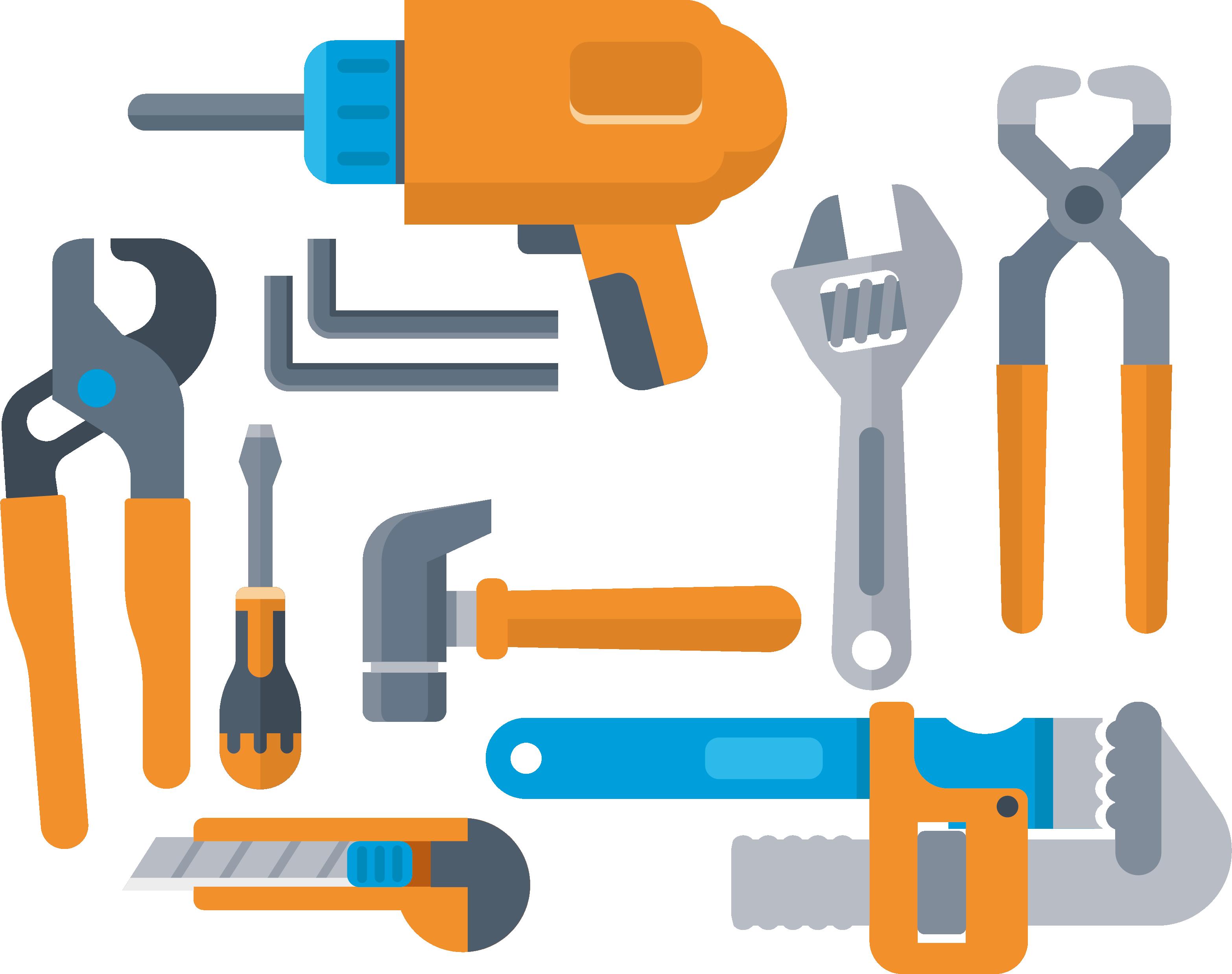 Herramienta de iconos equipo. Tool clipart herramientas
