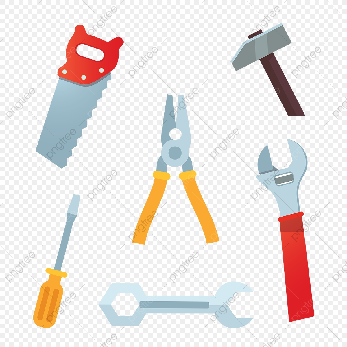 Tool clipart herramientas. Carpenter tools png