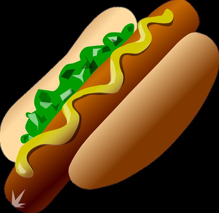 Hot dog shop of. Tool clipart illustration
