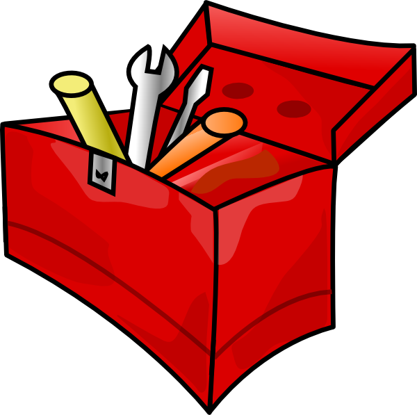 Box without clip art. Tool clipart name