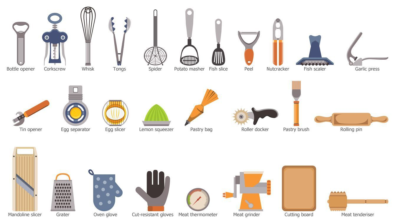 Free cooking tools download. Tool clipart name