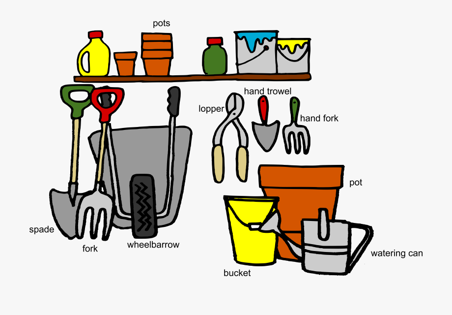 Tool clipart name. That answers names of
