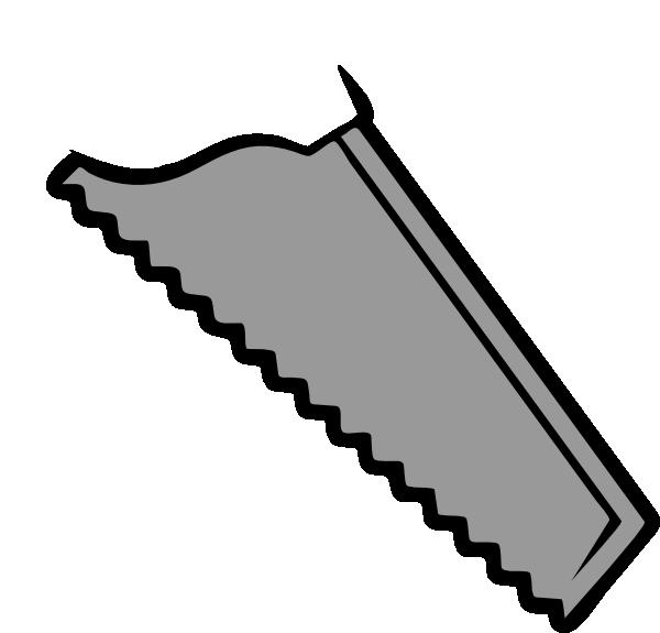 Tool clipart saw. Plain blade clip art