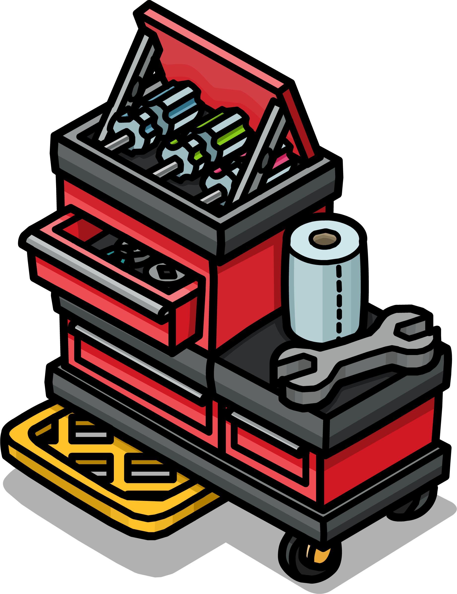 Image deluxe sprite png. Tool clipart tool chest