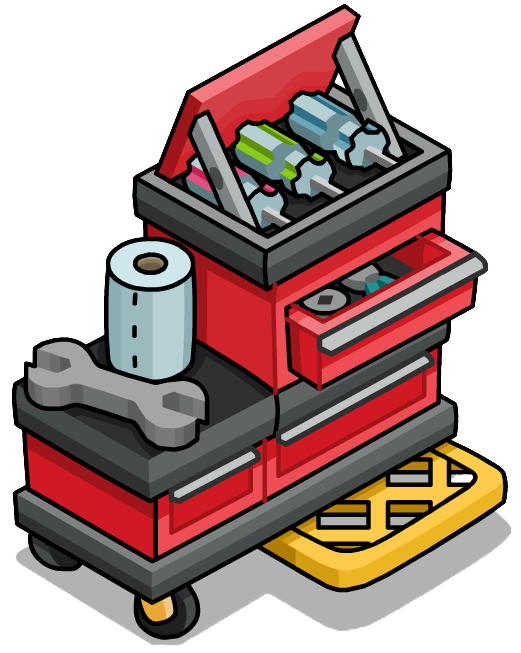 Image deluxe furniture icon. Tool clipart tool chest