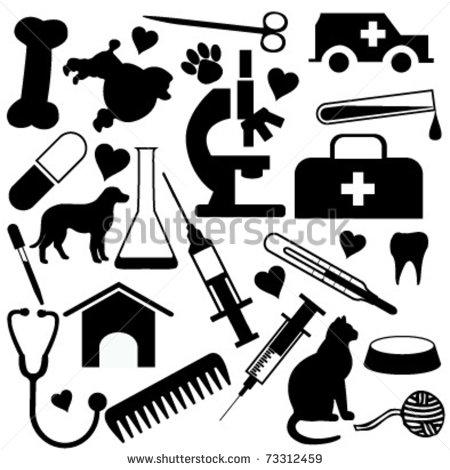 Free veterinary symbol cliparts. Veterinarian clipart veterinarian tool