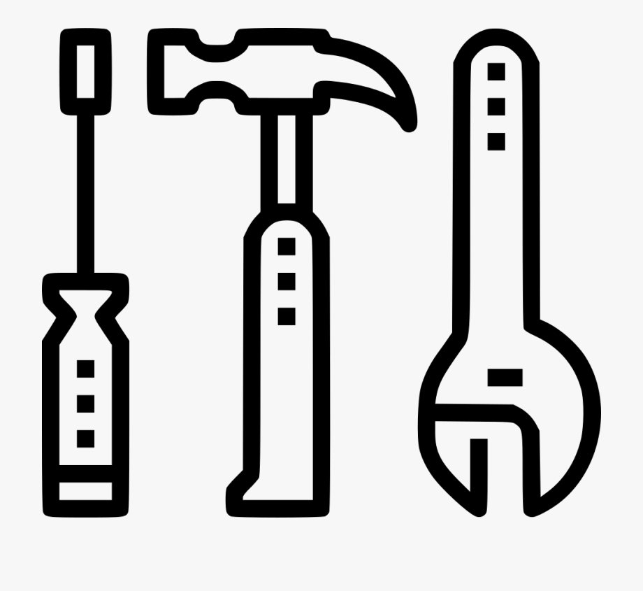Essential tools svg png. Tool clipart work tool
