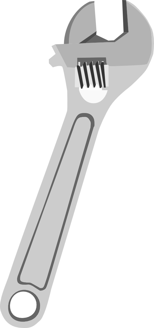 Adjustable i royalty free. Tool clipart wrench