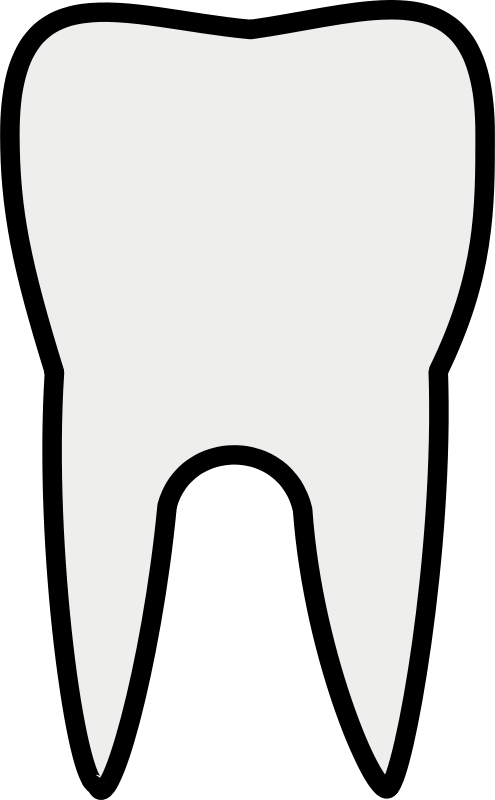 Clipart cow tooth. Black and white panda