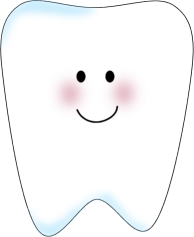 Tooth clipart. Clip art image white