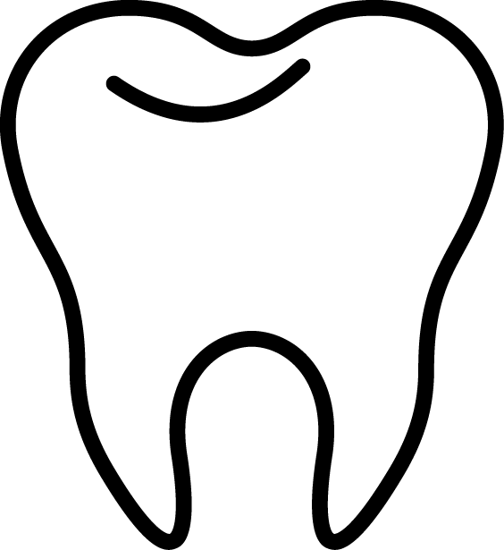 collection of tooth. Dentist clipart outline