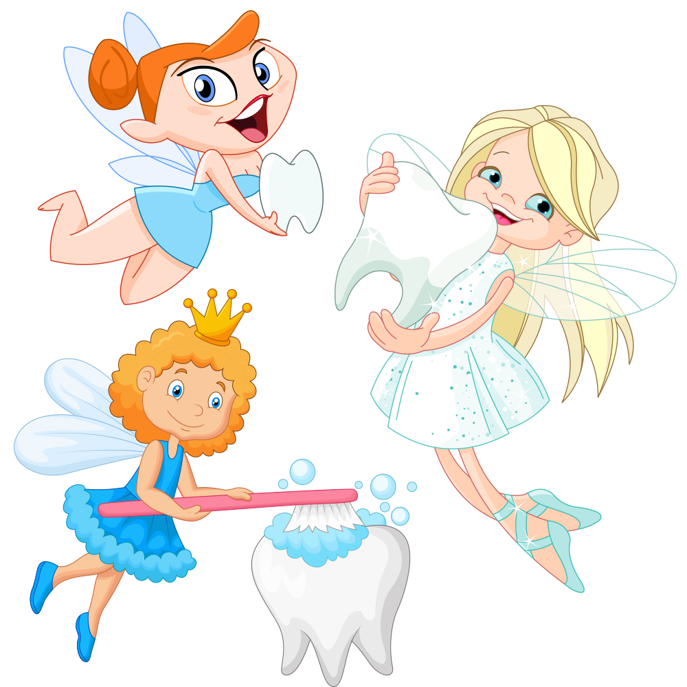Tooth clipart angel. Brushing cartoon drawing illustration