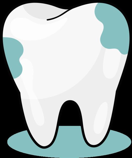 Tooth clipart calcium. Transparent cartoon jing fm