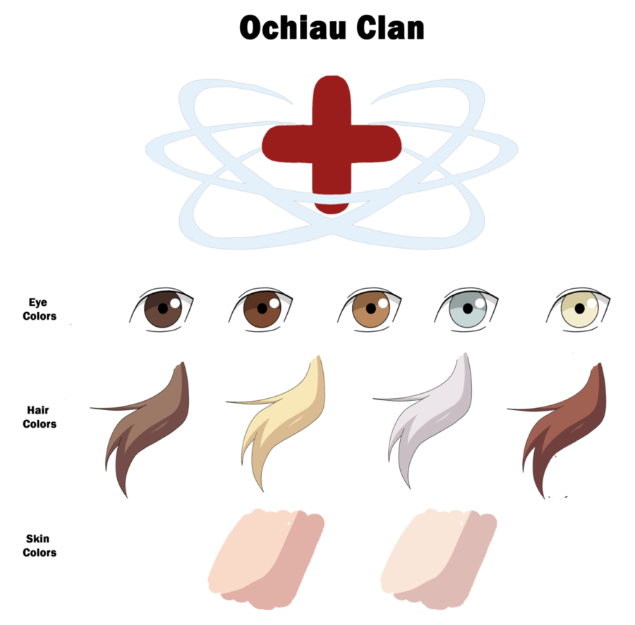 Tooth clipart colorful. Ochiau clan color sheet