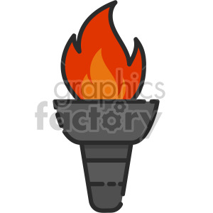 Torch clipart academic. Royalty free icon