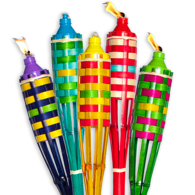 Torch clipart bamboo torch.  ft get outside