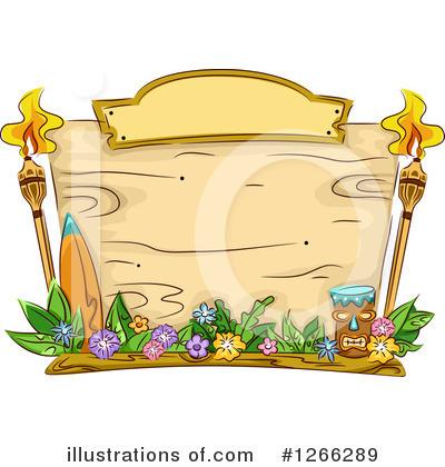 Illustration by bnp design. Torch clipart hawaiian