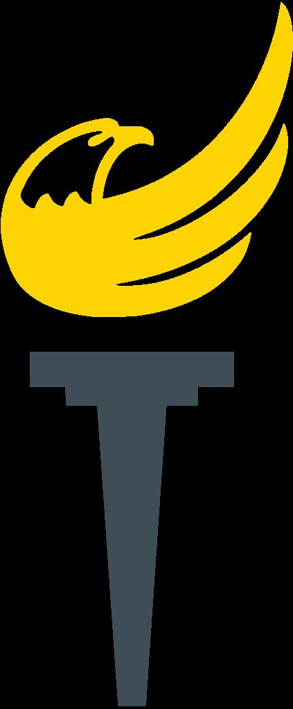 Torch clipart liberal. Libertarian logos