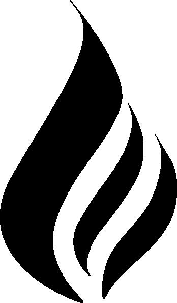Torch clipart prometheus. Blue flame simpleblue clip