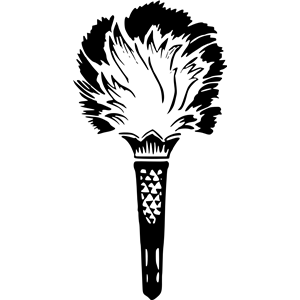 Torch clipart silhouette. Cliparts of free